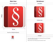 Bài tham dự #37 về Graphic Design cho cuộc thi Design a Logo for an Android app