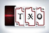 Graphic Design Kilpailutyö #3 kilpailuun English version TXTO Cards Game