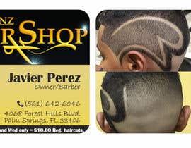 I Need A Business Card Design For An Urban Barbershop Freelancer