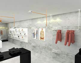 #13 for 3D Modelling layout for luxury retail store. by archiact