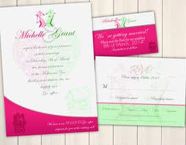 KevinChoiKang tarafından Wedding Invitation and Save the date card için no 18