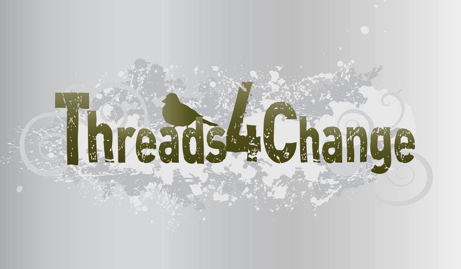 Kilpailutyö #139 kilpailussa Logo Design for Threads4Change