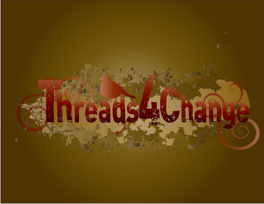 Kilpailutyö #138 kilpailussa Logo Design for Threads4Change