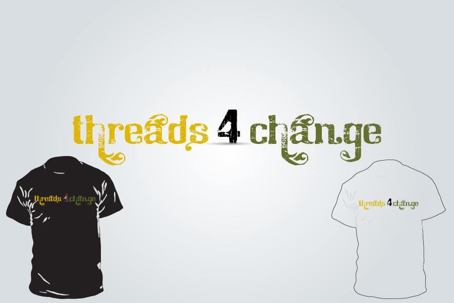 Kilpailutyö #31 kilpailussa Logo Design for Threads4Change
