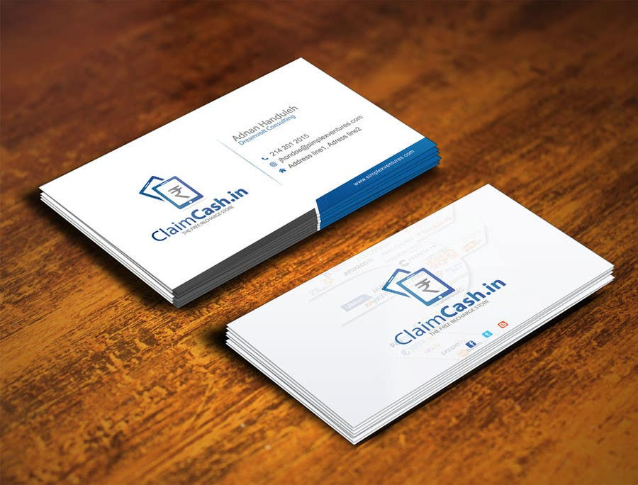 Entry 14 By Gohardecent For Design A Visiting Cardbusiness Card