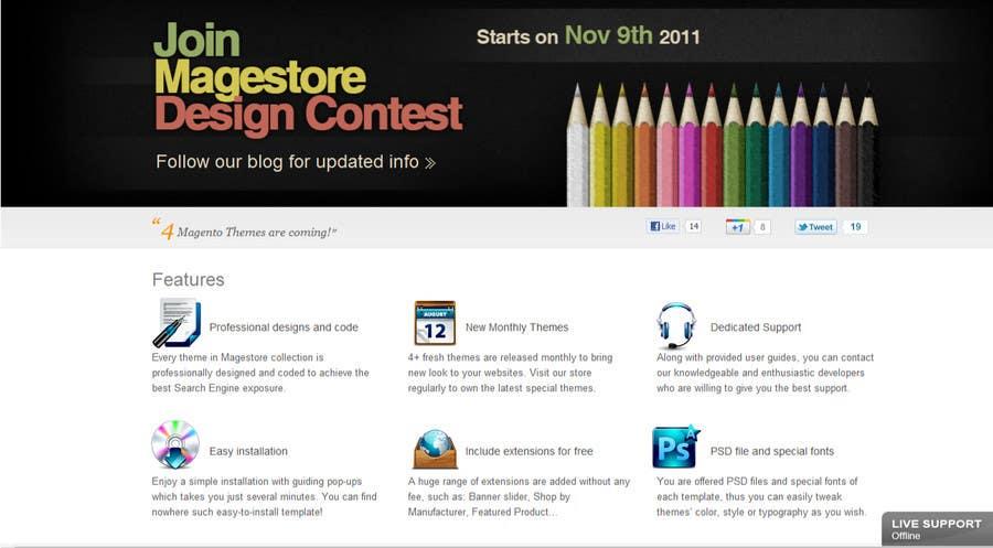 Kilpailutyö #                                        31                                      kilpailussa                                         Design Icon Set for Magestore (will choose 3 winners)