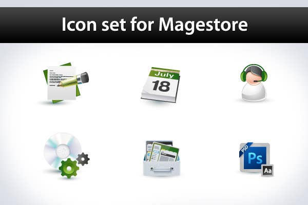 Contest Entry #                                        28                                      for                                         Design Icon Set for Magestore (will choose 3 winners)