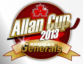 #68 para Logo Design for Allan Cup 2013 Organizing Committee por GreenAndWhite