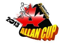 Graphic Design Конкурсная работа №64 для Logo Design for Allan Cup 2013 Organizing Committee