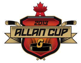 #141 para Logo Design for Allan Cup 2013 Organizing Committee por neriomones
