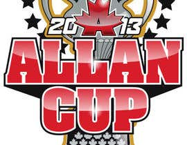 #85 para Logo Design for Allan Cup 2013 Organizing Committee por neriomones