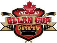 Graphic Design Конкурсная работа №142 для Logo Design for Allan Cup 2013 Organizing Committee