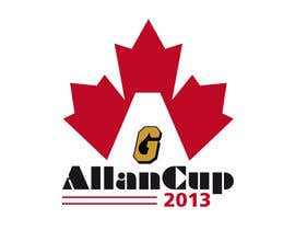 #63 para Logo Design for Allan Cup 2013 Organizing Committee por JoGraphicDesign