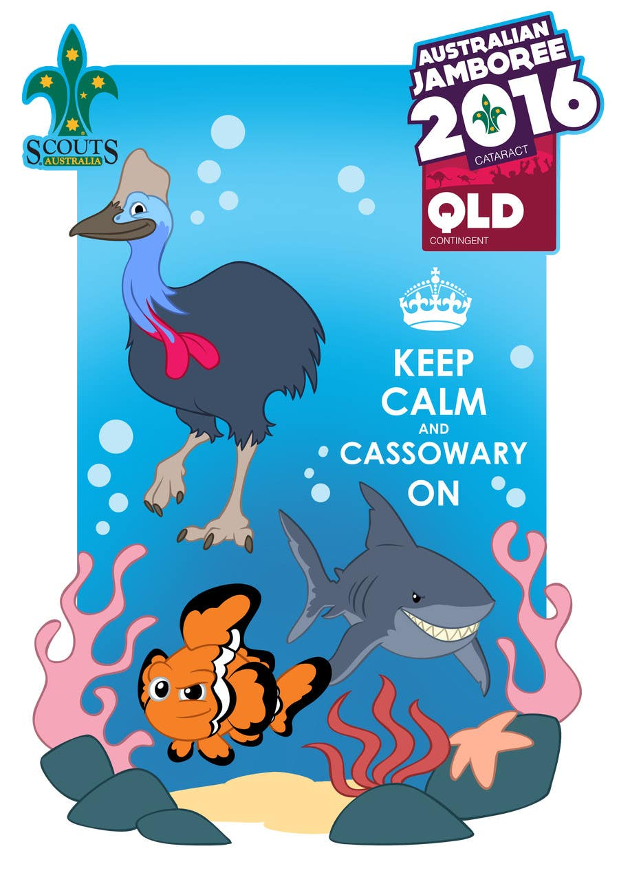 T shirt design qld -  7 For Design A Great Barrier Reef T Shirt For Jamboree Troop By Ajvdw