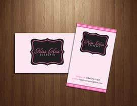 #216 para Business Card Design for Kiss Kiss Desserts por Deedesigns