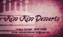 Graphic Design Konkurrenceindlæg #12 for Business Card Design for Kiss Kiss Desserts