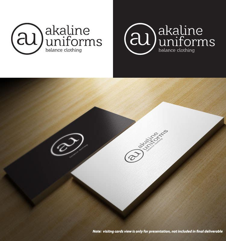Develop a Corporate Identity for Akaline Uniforms, LLC için 32 numaralı Yarışma Girdisi