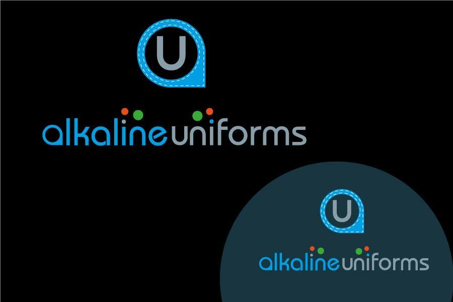 Develop a Corporate Identity for Akaline Uniforms, LLC için 1 numaralı Yarışma Girdisi