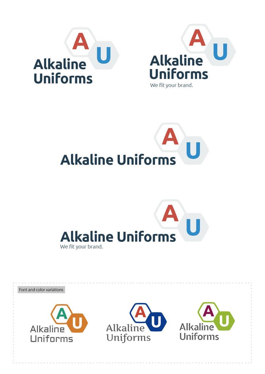 Develop a Corporate Identity for Akaline Uniforms, LLC için 72 numaralı Yarışma Girdisi