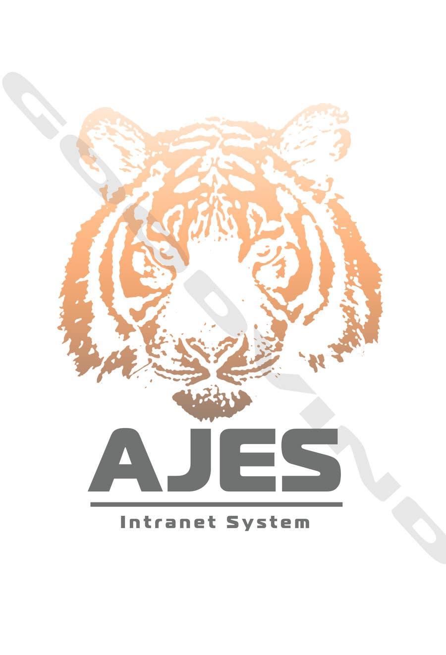 Bài tham dự cuộc thi #                                        7                                      cho                                         Design a Logo for AJES Intranet System
