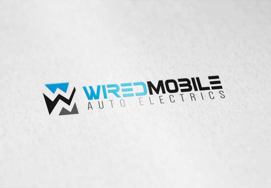 Entry #4 by ralfgwapo for Wired Mobile Auto Electrics Logo Design ...