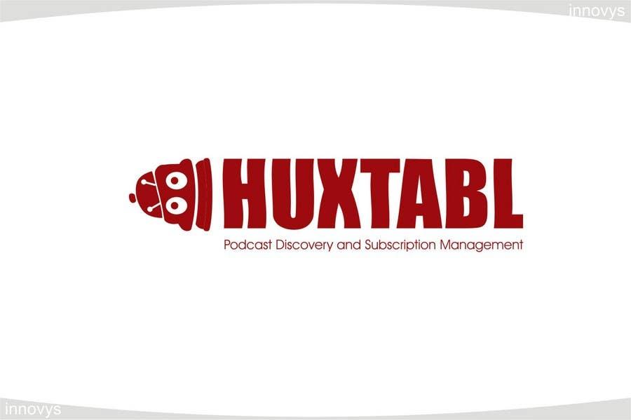 Konkurrenceindlæg #325 for Logo Design for Huxtabl