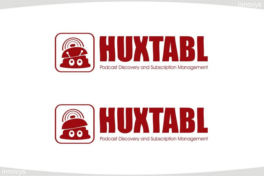 Конкурсная заявка №315 для Logo Design for Huxtabl