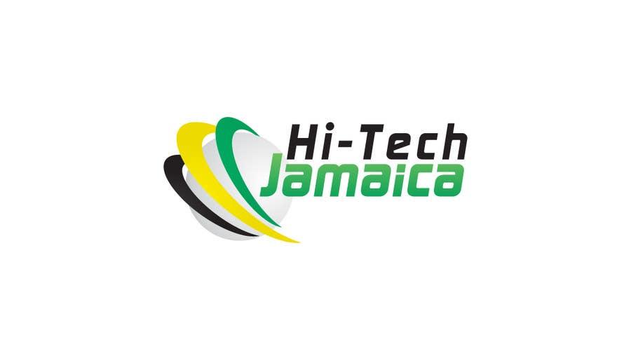#176 for Logo for Hi-Tech Jamaica by ammari1230