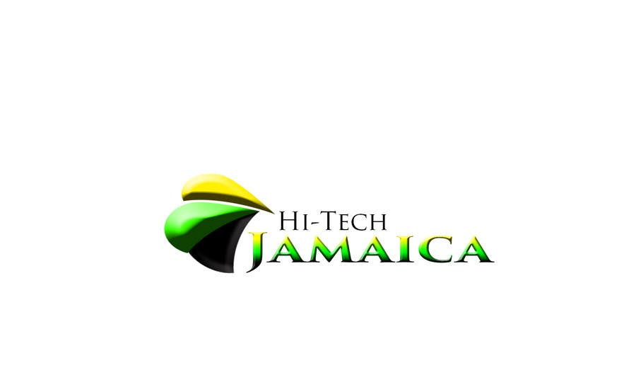 #177 for Logo for Hi-Tech Jamaica by makbwoy