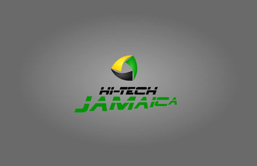 #179 for Logo for Hi-Tech Jamaica by huzefa94