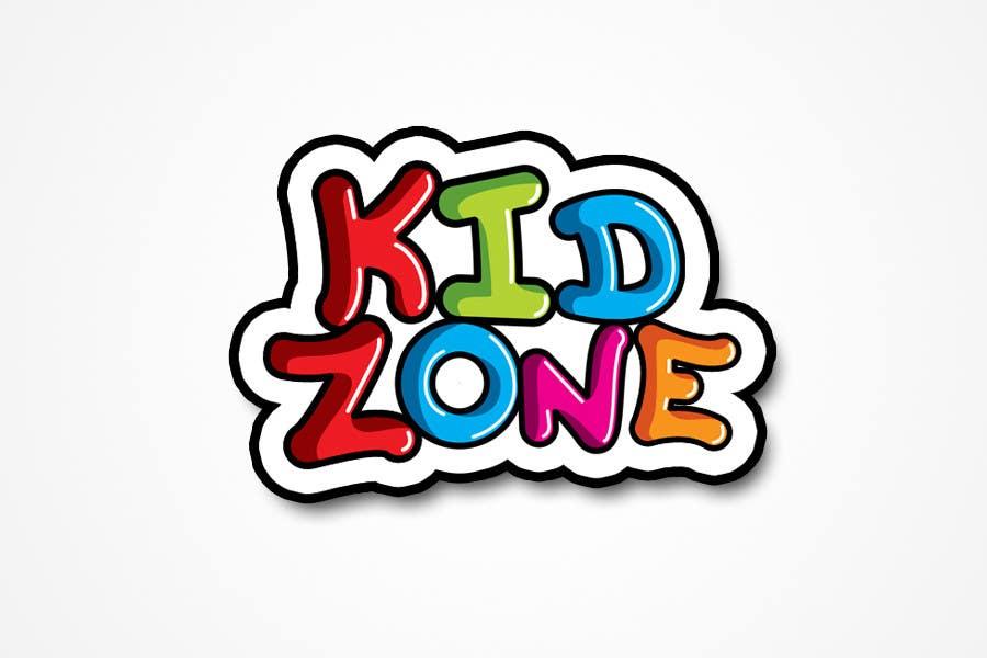 Entry #41 by heloveshah for kidZone Logo Design | Freelancer