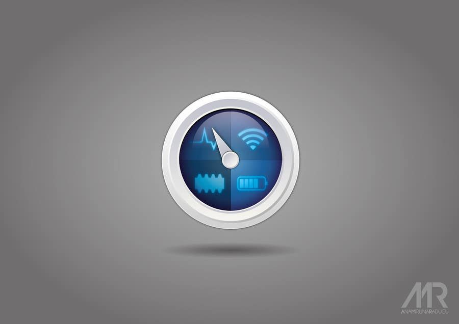 #135 for Design an App Icon for iMonitor (Mac App) by anamiruna
