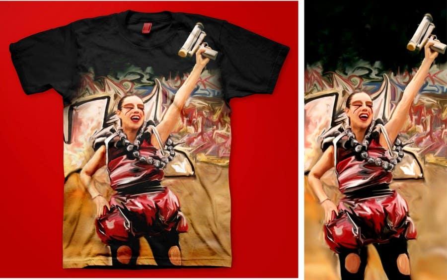 Penyertaan Peraduan #                                        56                                      untuk                                         T-shirt Design for Featherhead