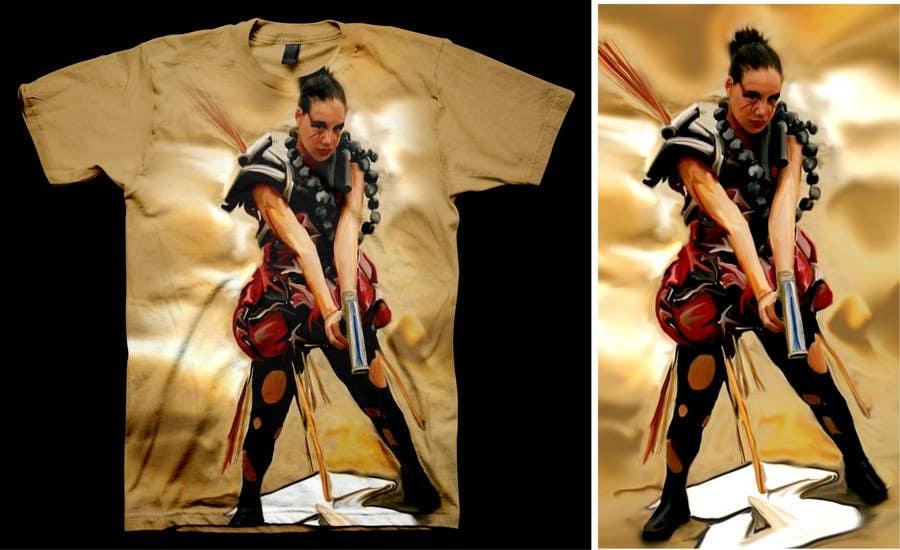 Penyertaan Peraduan #                                        55                                      untuk                                         T-shirt Design for Featherhead