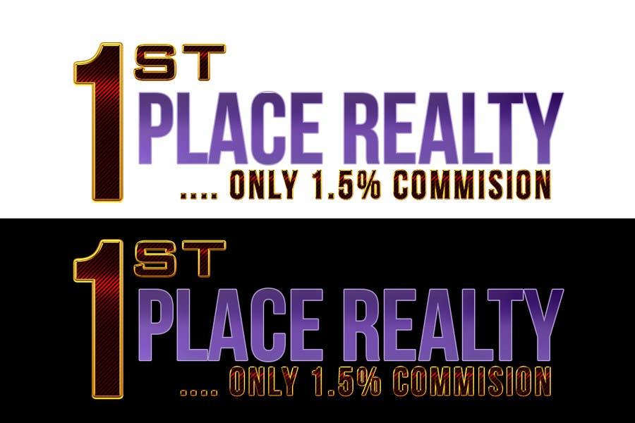 Inscrição nº 76 do Concurso para 1st Place Realty