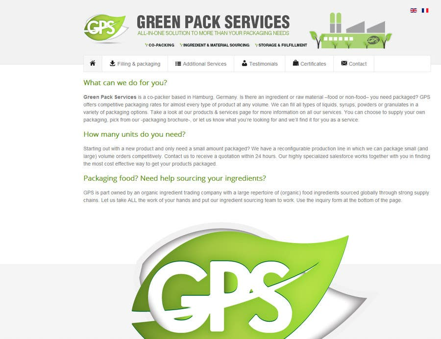 Contest Entry #32 for Banner for Packaging Company