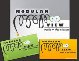 nº 48 pour Logo Design for Modular View par Menahilbutt