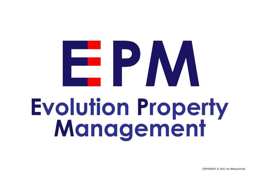 Конкурсная заявка №191 для Logo Design for evolution property management