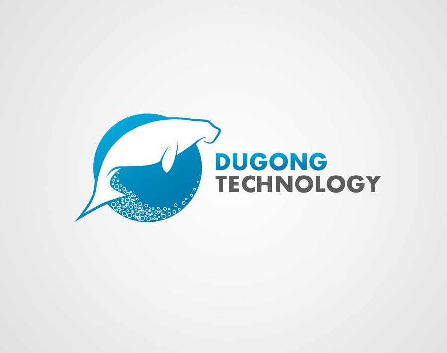 Kilpailutyö #34 kilpailussa Design a Logo for Dugong Technology