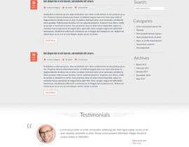 #27 for Create a website mockup for SEO-focused brand af anj12