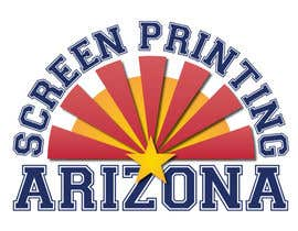 #35 untuk Design a Logo for Arizona Screen Printing - AZscreenprinting.com oleh hegabor