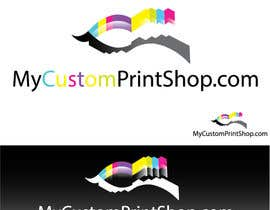 #16 para Design a Logo for MyCustomPrintShop.com por sedmdesatkw