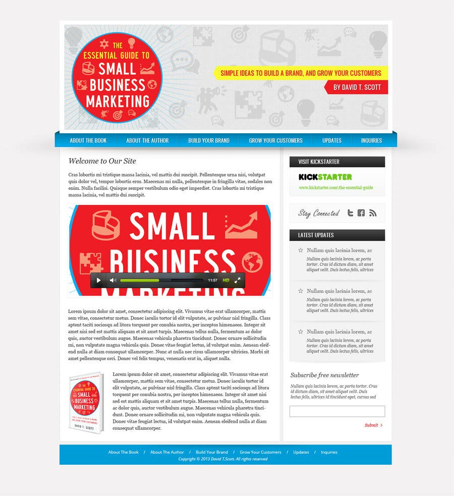 #6 for Build a Website for my new book! by Pavithranmm