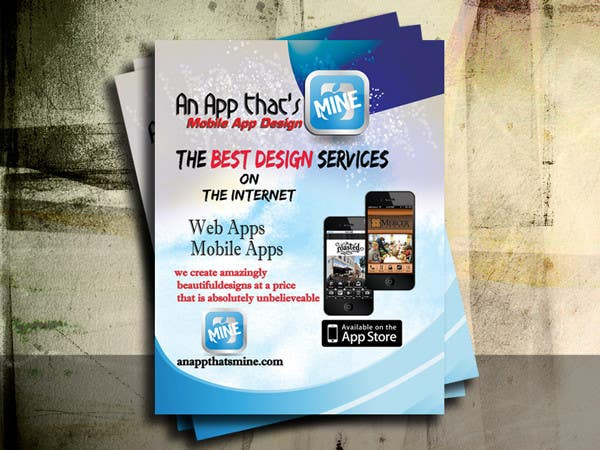 Flyer Design Contest Entry #3 for Design a Flyer for Mobile App and Website Developer