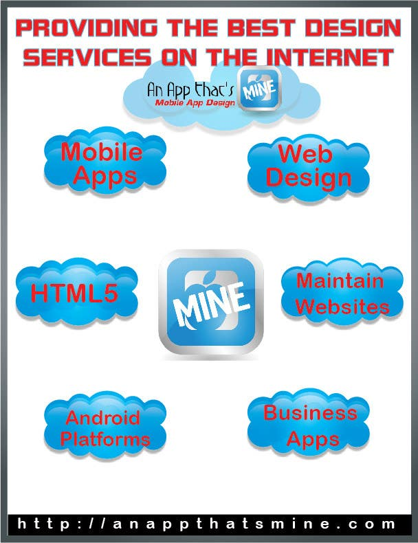Contest Entry #4 for Design a Flyer for Mobile App and Website Developer