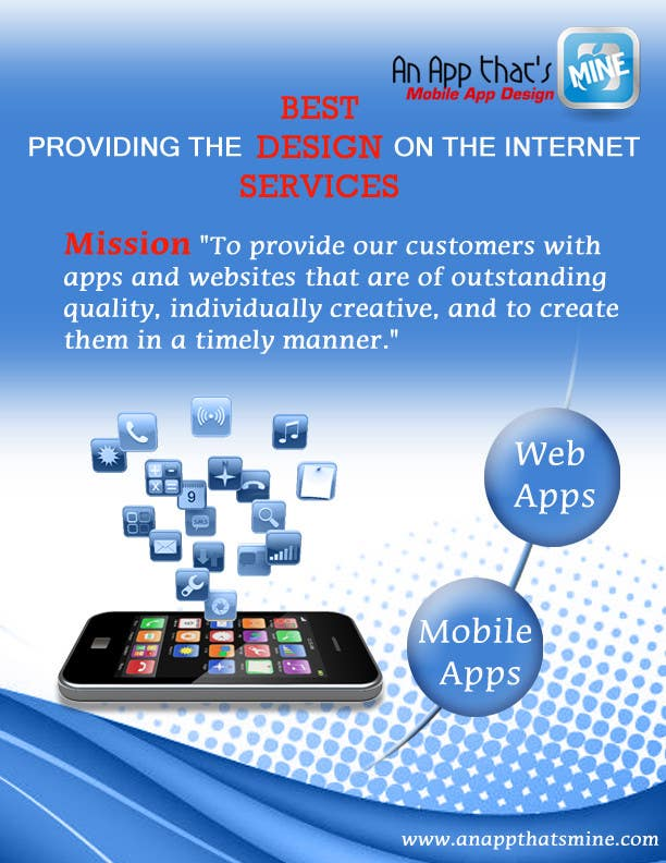 Contest Entry #14 for Design a Flyer for Mobile App and Website Developer