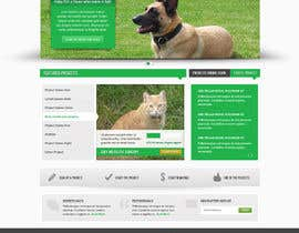 #1 para Design an awesome Website mock-up for PetSaviors por Pavithranmm