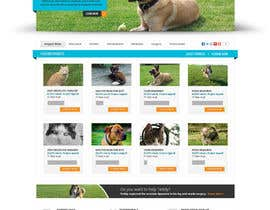 Pavithranmm tarafından Design an awesome Website mock-up for PetSaviors için no 23