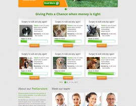 #19 para Design an awesome Website mock-up for PetSaviors por ibrahimnassar