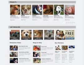 wdcarolina tarafından Design an awesome Website mock-up for PetSaviors için no 26